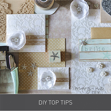 DIY Top Tips for Wedding Invitations from Imagine DIY | Home of DIY Wedding Stationery, Laser Cut, Crystal Embellishments and Craft Supplies