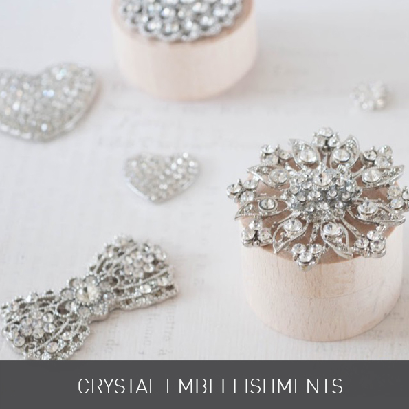 Crystals for Wedding Invitations from Imagine DIY | Home of DIY Wedding Stationery, Laser Cut, Crystal Embellishments and Craft Supplies