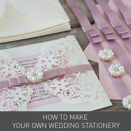 How to Make your own Wedding Invitations from Imagine DIY | Home of DIY Wedding Stationery, Laser Cut, Crystal Embellishments and Craft Supplies
