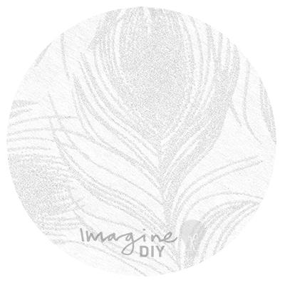 Peacock Chiffon Paper - Imagine DIY