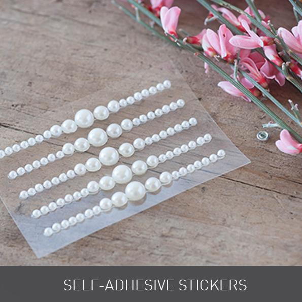 Self Adhesive Stickers from Imagine DIY | Home of DIY Wedding Stationery, Laser Cut, Crystal Embellishments and Craft Supplies