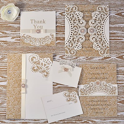 How To Make Doily Laser Cut Lace Wedding Range