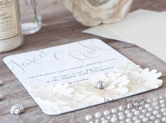 Wedding Invitations Make Your Own: Elegant_floral_wedding_invitation_to_make_yourself