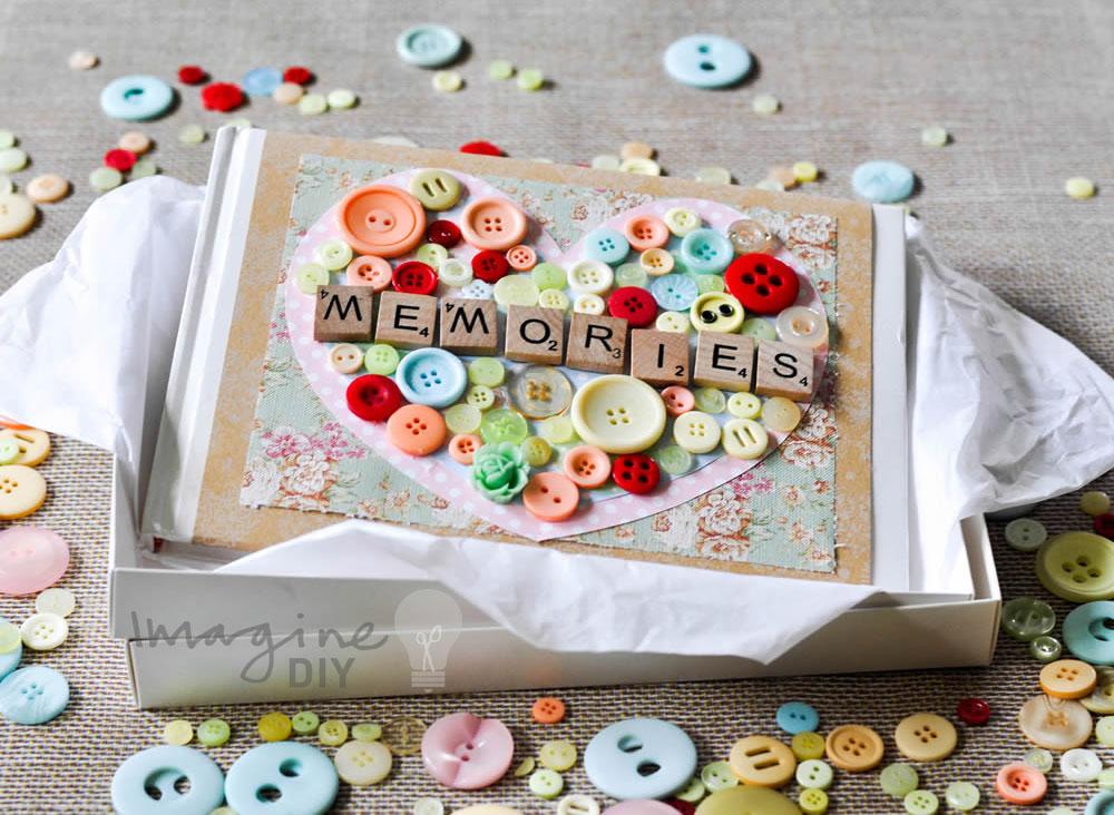 How To Make Memories Guest Book Imagine Diy