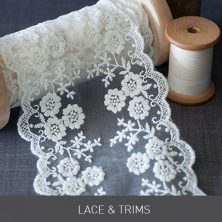 Lace and Trims for DIY Wedding Invitations from Imagine DIY | Home of DIY Wedding Stationery, Laser Cut, Crystal Embellishments and Craft Supplies