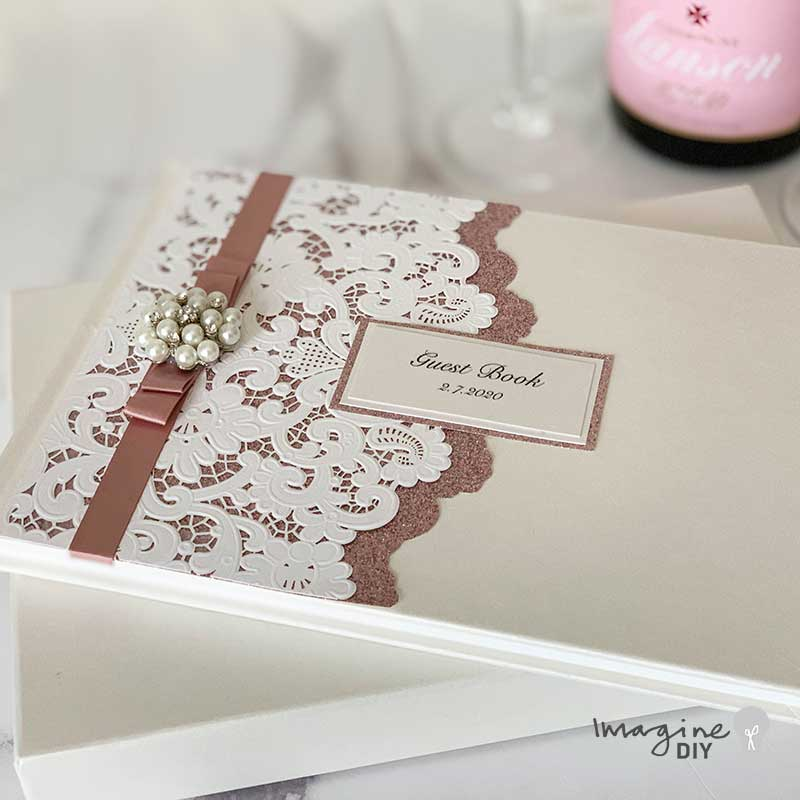 How To Make A Luxury Guest Book Imagine Diy